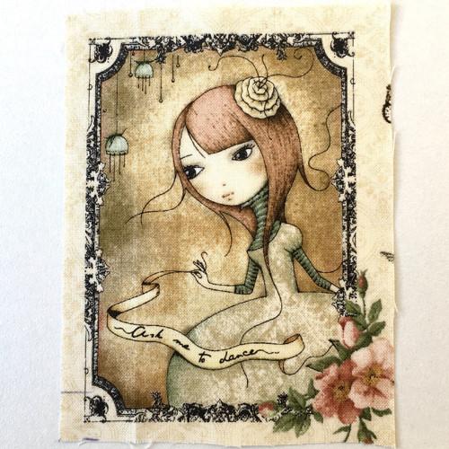 Mirabelle - minipanel (dívka se stuhou)