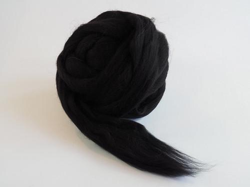 Španělská ovčí vlna - černá 10g