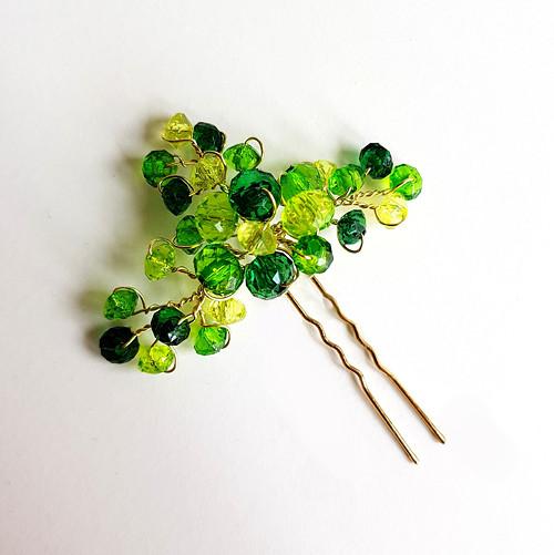 Pinetka zelená žíhaná