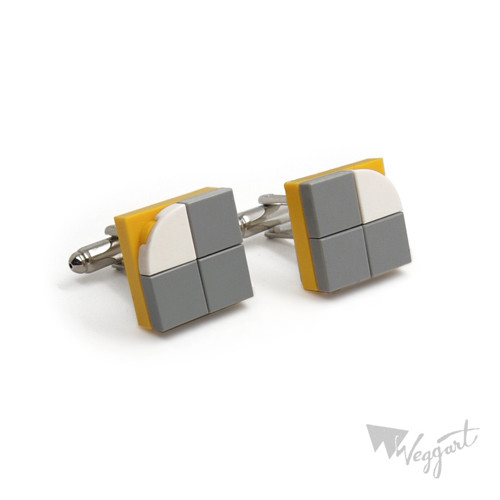 Manžetové knoflíčky Lego Flat