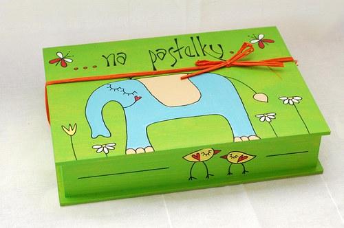 slon  na pastelky