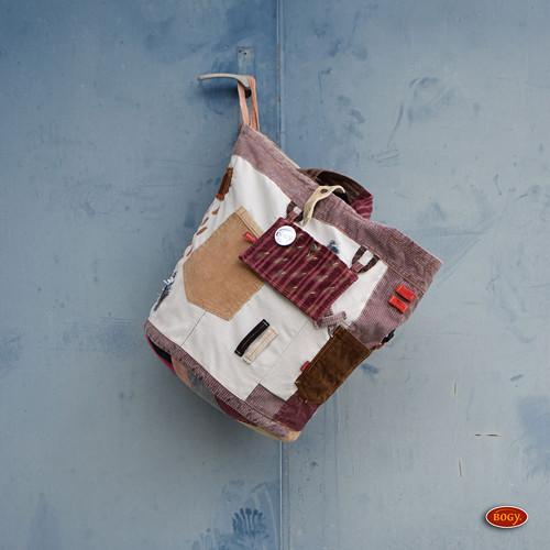 velký recy koš, manšestrová nákupní taška 9