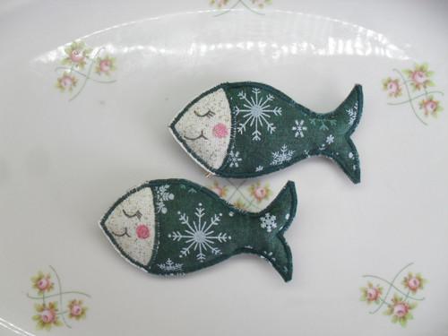 Vánoční  rybky
