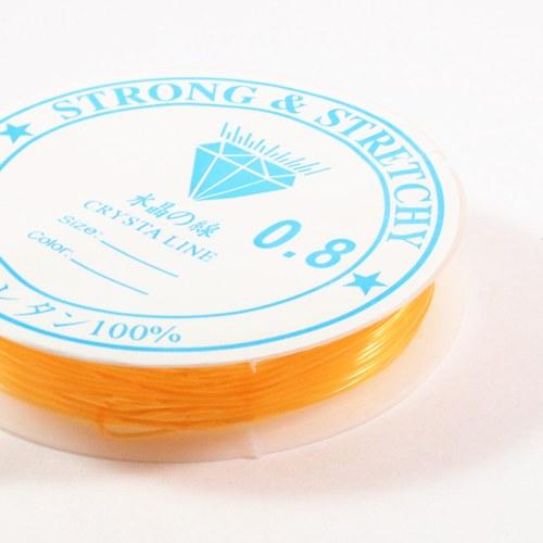 Pruženka 0,8 mm oranžová 6 m