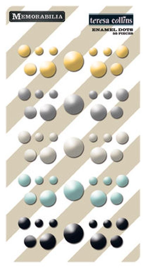 Memorabilia Enamel Dots, enamelové tečky
