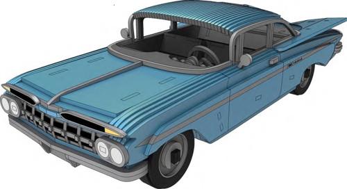 Modely aut | Chevrolet Impala 1959