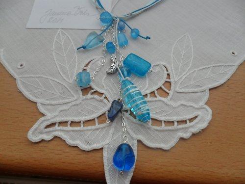 Náhrdelník Modrý skvost