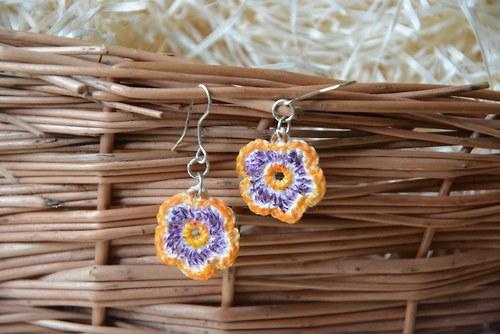 Kytičky oranžfialová