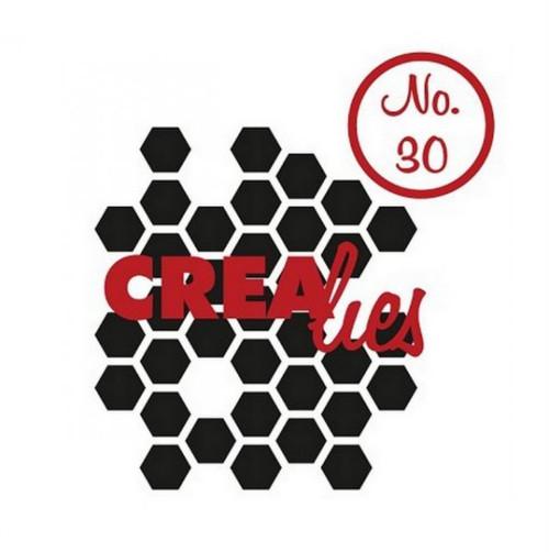 Silikonová razítka Crealies / Honeycomb