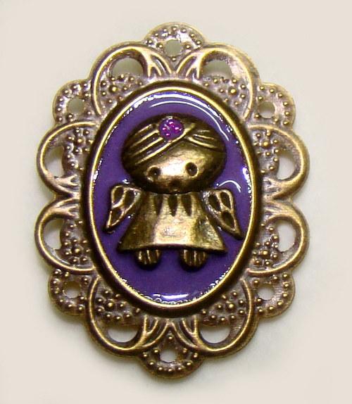 Florian - maličká andělská brožka
