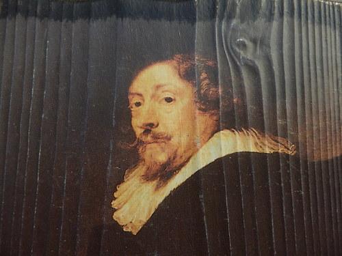 Rubens - Vlast.podobizna,reprodukce na dřev. desce