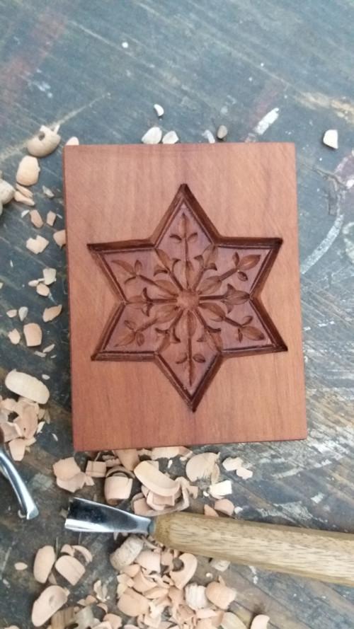 hvězdička  forma  7 x 7  cm