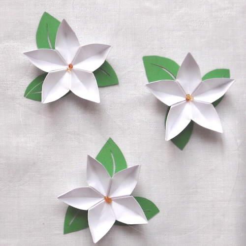 Závěs - jabloňové květy