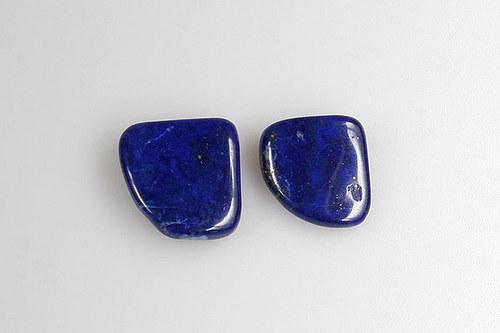 Lapis lazuli, 2 kusy