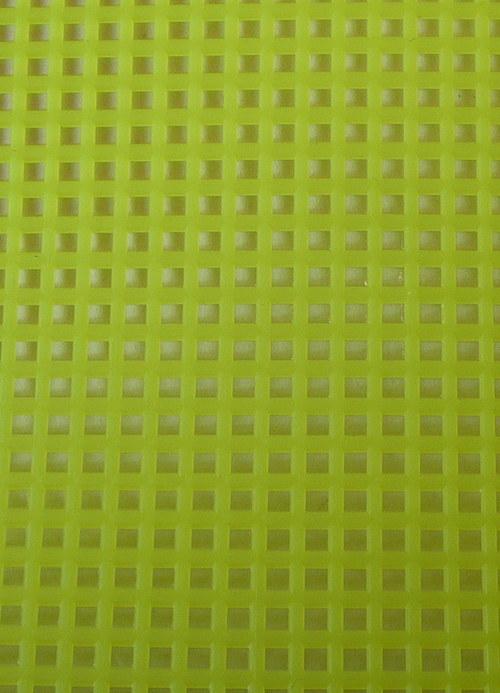 Plastová kanava I - žlutá neon