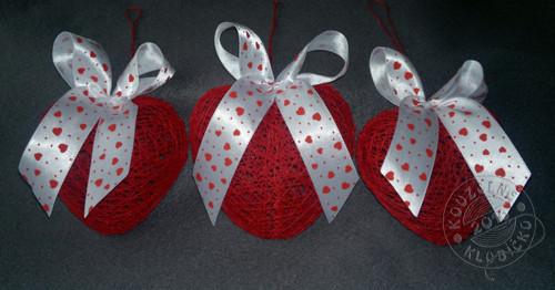 Srdíčko červené 10 cm
