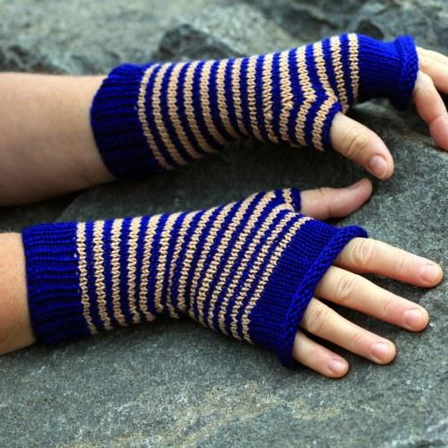 ruce v teple - pruhované