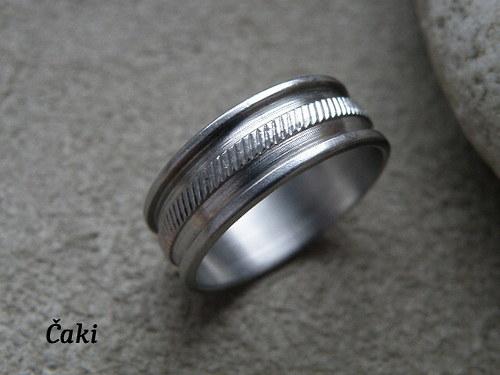 Pánský prsten  z nerezu......