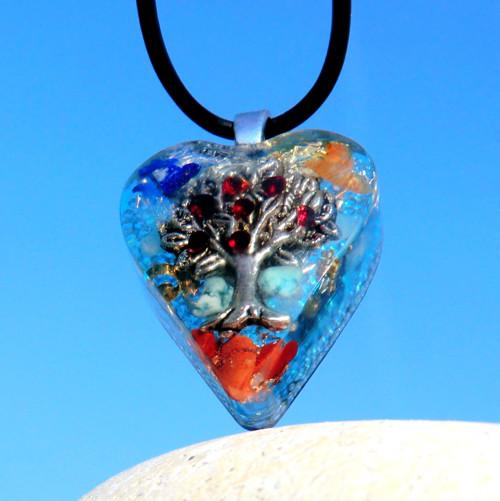 Granátový * Strom Života *D 1*  modrý