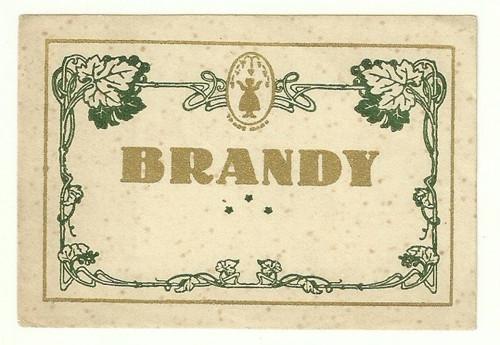 Etiketa Brandy