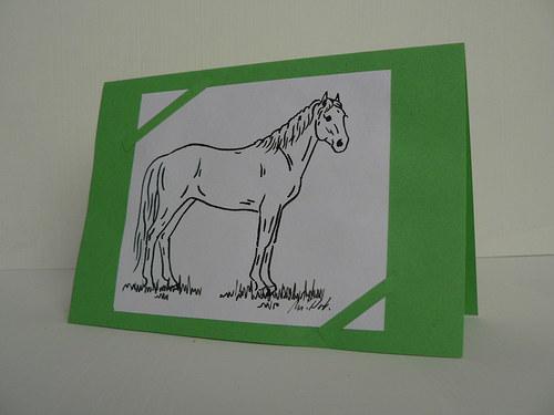 Přání s koněm