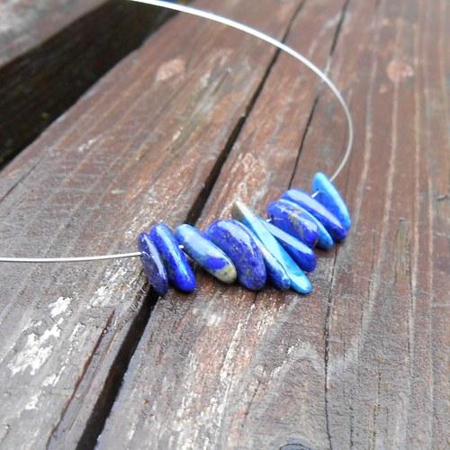 lazuritový náhrdelník 2