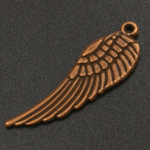 Přívěsek - měděné křídlo 3 cm