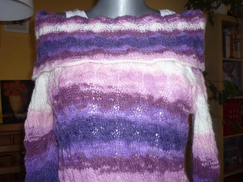 Maxi svetr / šaty
