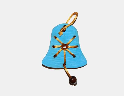 Dřevěná ozdoba k dotvoření - zvoneček
