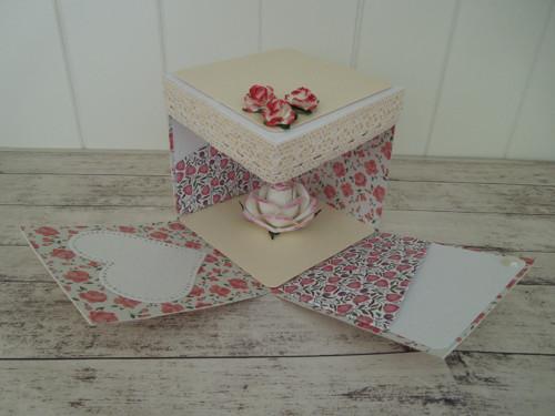 Elegantní svatební krabička