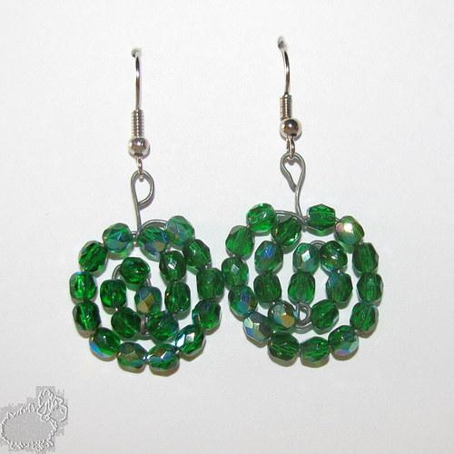 zelené spirály