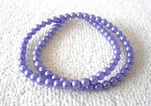Náhrdelník vosk světle fialový