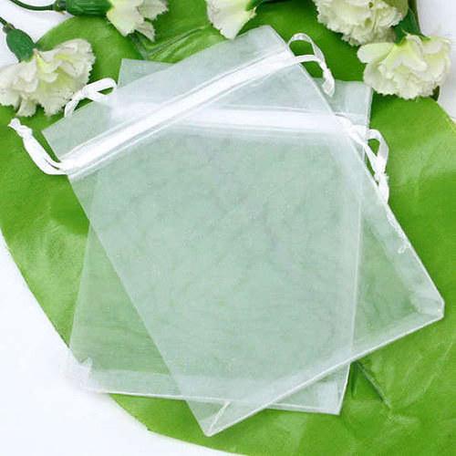 Organza pylíčky - bílé (10ks)