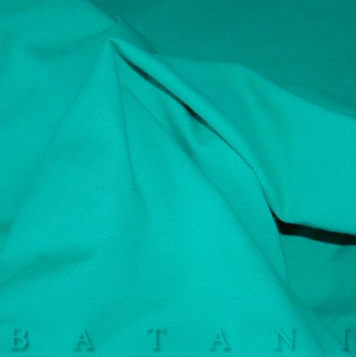 Jednolíc elastický tyrkysově zelený
