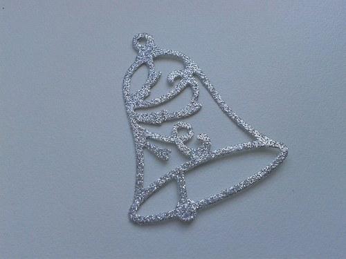 Zvoneček - stříbný
