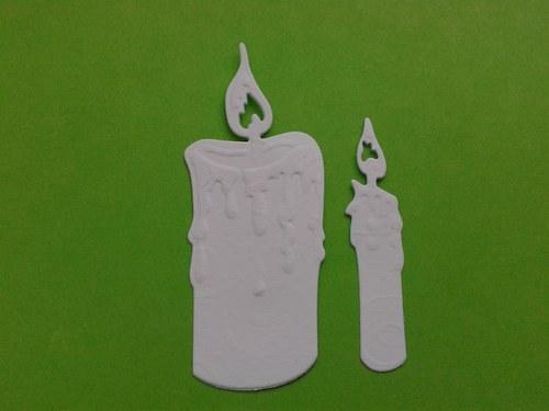 Svíčky - bílé