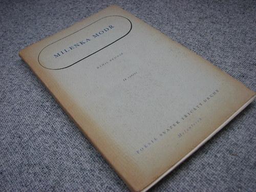 Milenka modř - K. Bednář, 1944
