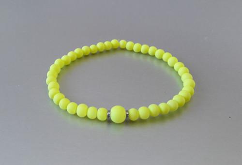 Náramek / Neon žlutý /