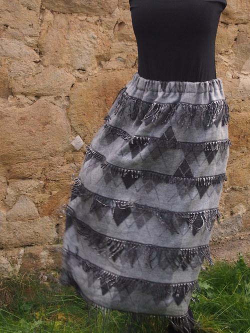Kašmírová sukně