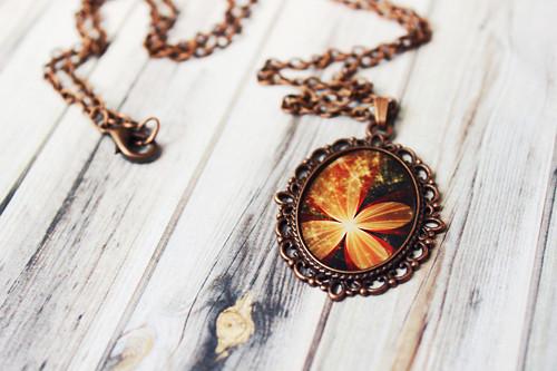 Sparkle - Náhrdelník z křišťálové pryskyřice