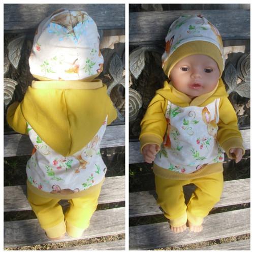 tepláková souprava pro Baby Born 43 cm