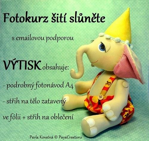 Fotokurz Slůně VÝTISK