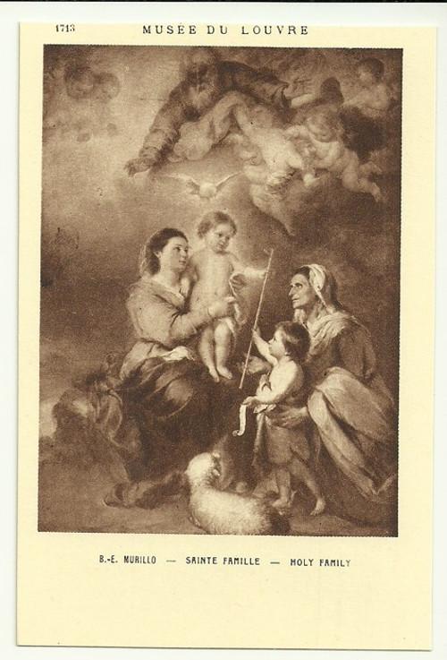 Umělecká pohlednice B.E.Murillo