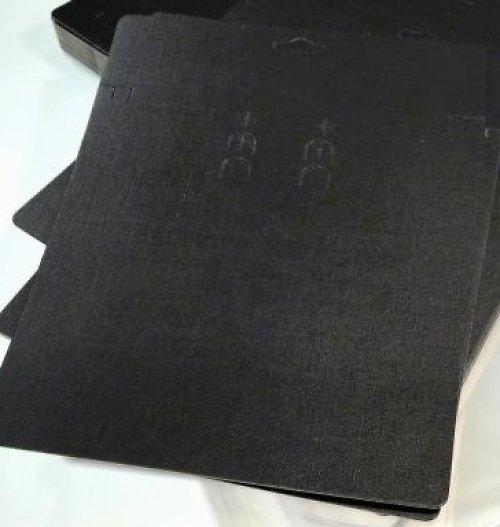 Bižuterní karta velká (na sadu) 2 ks