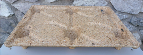 paleta z dřevotřískové desky lisovaná