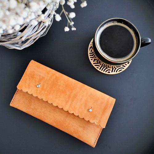 dýňovo-strakatá peněženka