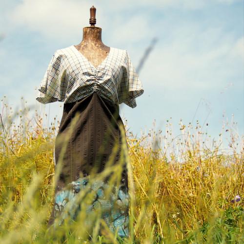 Vítám tě, léto - šaty s rukávkem