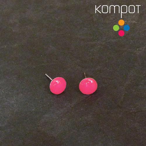 KAPKY :: neonově růžové