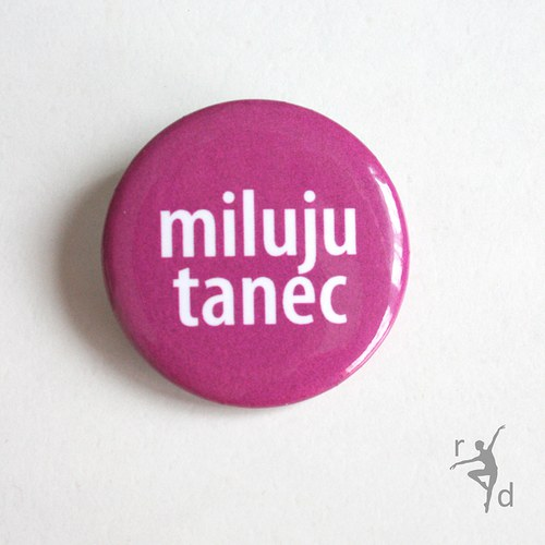 Placka MILUJU TANEC