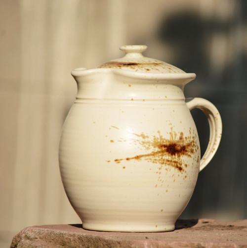 Džbánek s pokličkou Mlíčňák 2,3l - Vůně kávy